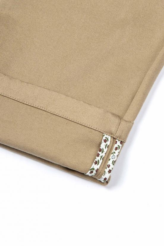 lepantalon : pantalon chino sport beige