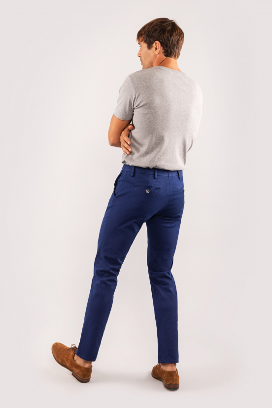 Royal Blue Chinos