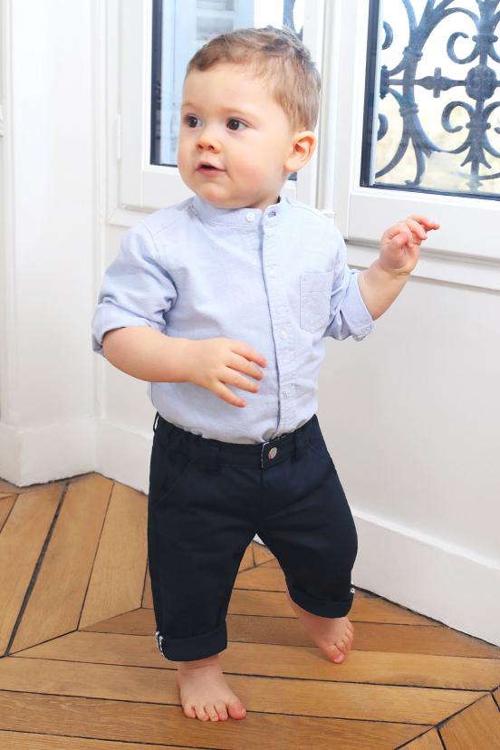 Chino Enfant Bleu Marine