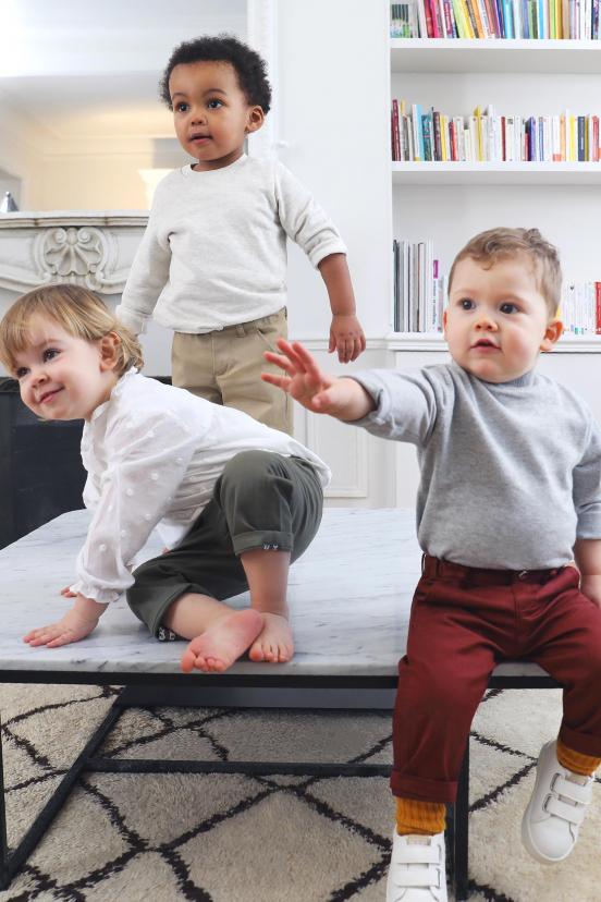 Khaki Children's Chinos