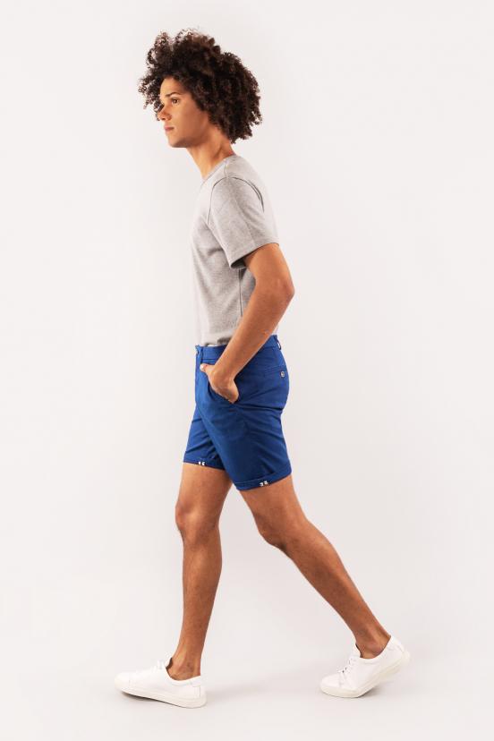 Electric Blue Bermuda Shorts
