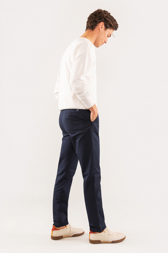 Navy Blue Sports Chinos